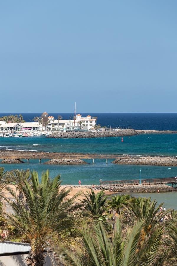 beach caleta de fuerteventura fuste στοκ εικόνες