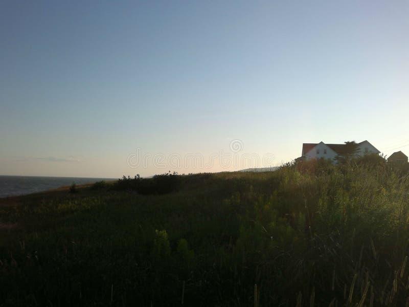 Beach of Cape Breton Island stock images