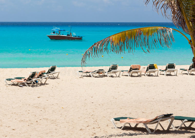 Download Beach at the Caribbean sea stock photo. Image of scenery - 20911904