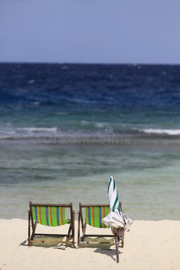 Free Beach Chair Stock Image - 20505581