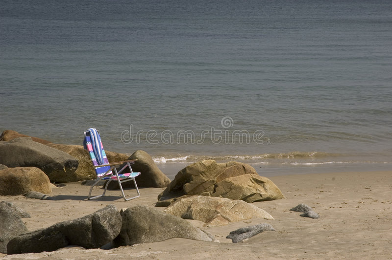 Download Beach Chair stock image. Image of beaches, chair, towel - 20737