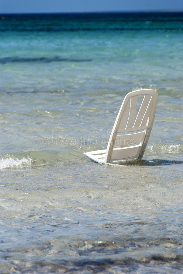 Download Beach chair stock photo. Image of white, scene, object - 25791394