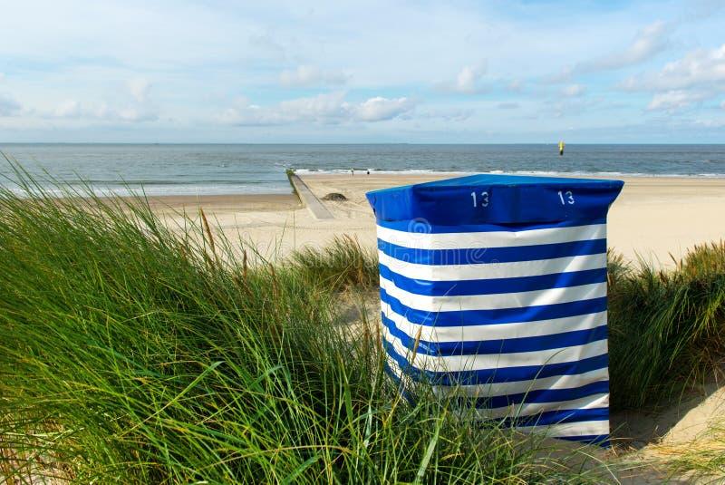 Beach Chair At The Sea Stock Photo