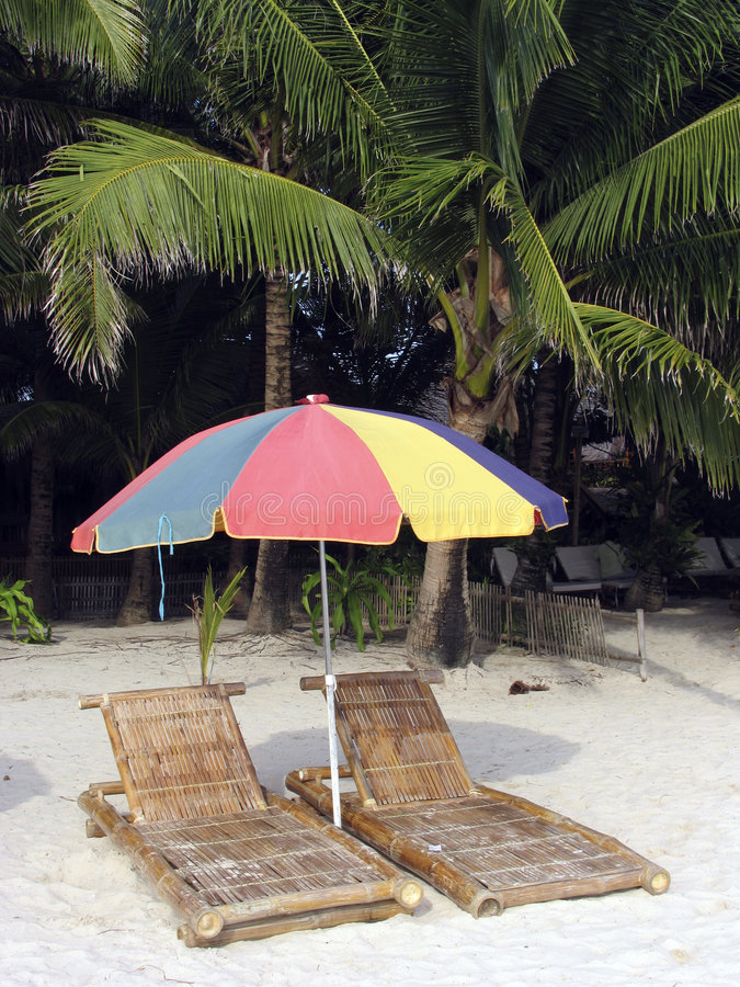 Download Beach chairs 5 stock image. Image of light, calm, oceans - 114279