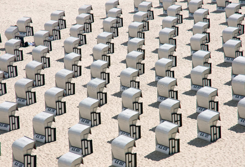 Download Beach Chairs At The Baltic Sea, Germany Stock Photo - Image: 14860620