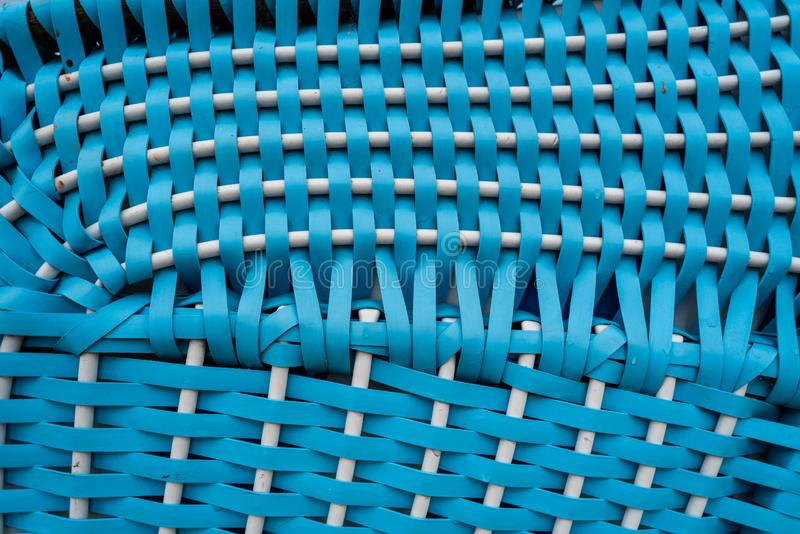 Beach chairs differently staged at the beach in Dangast. Germany stock photography
