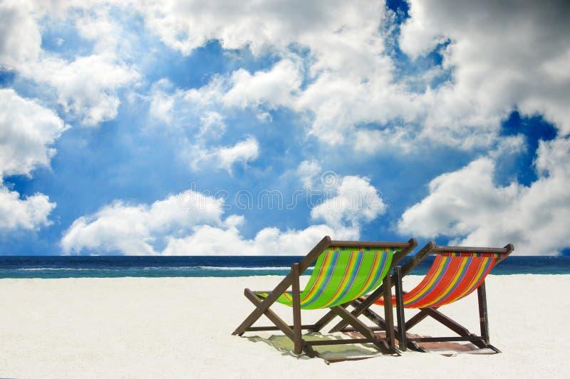 Beach Chairs Stock Photos