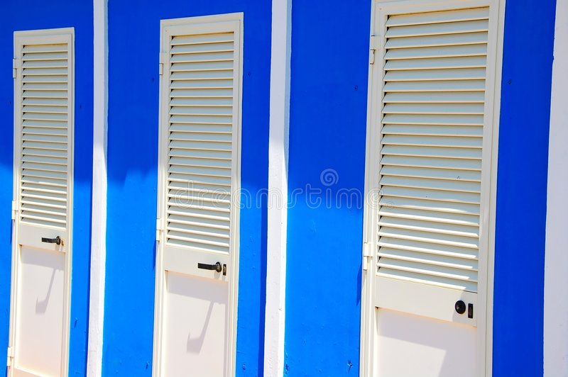 Download Beach changing room doors stock image. Image of outside - 7187765 : beach doors - Pezcame.Com