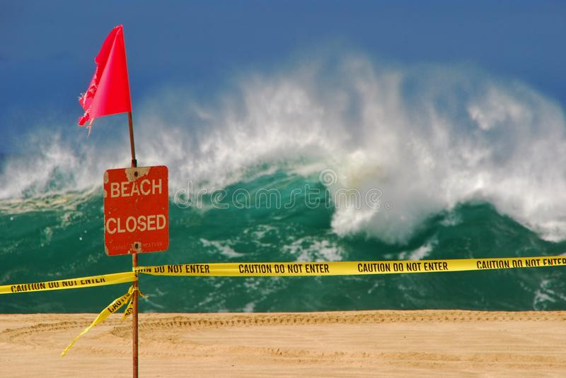 Download Beach Closed Royalty Free Stock Image - Image: 28608426
