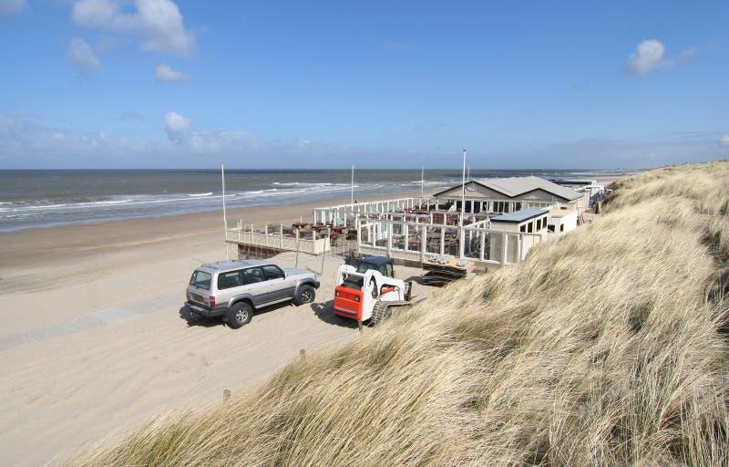 Beach Club Stock Photo