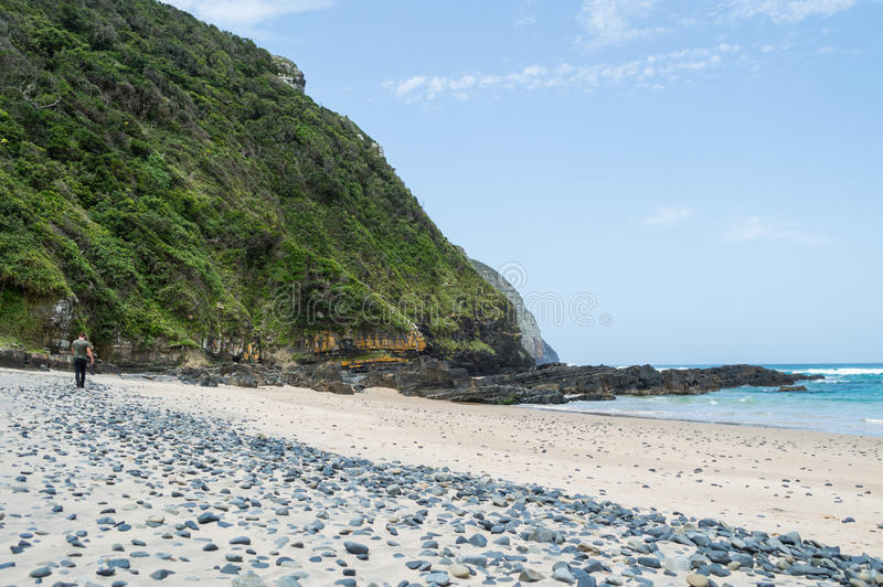 Beach at Coffee Bay, Eastern Cape, South Africa. Beautiful Beach at Coffee Bay, Eastern Cape, South Africa stock photos