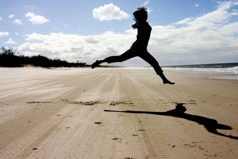 Download Beach Dancing Royalty Free Stock Photos - Image: 141458