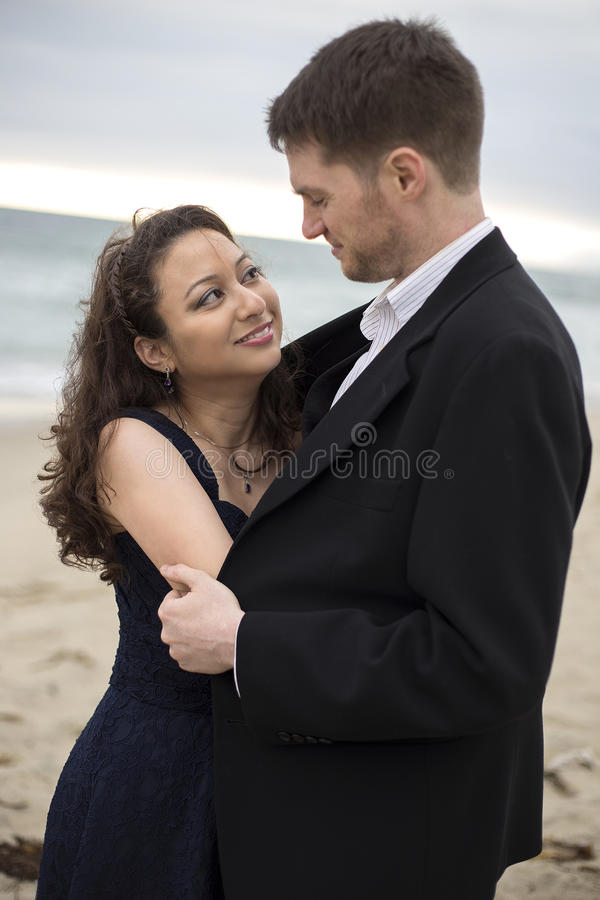 Beach Date stock images