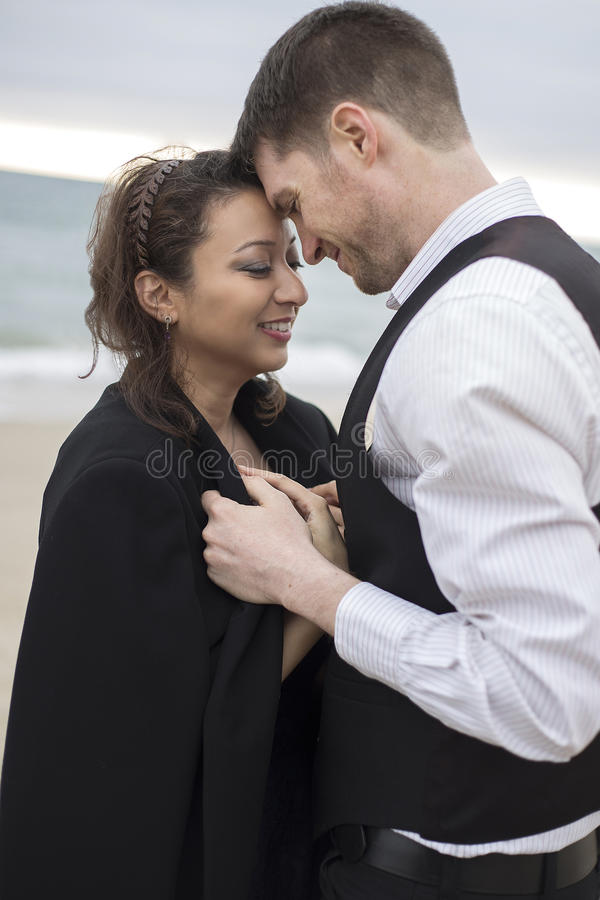 Beach Date royalty free stock images