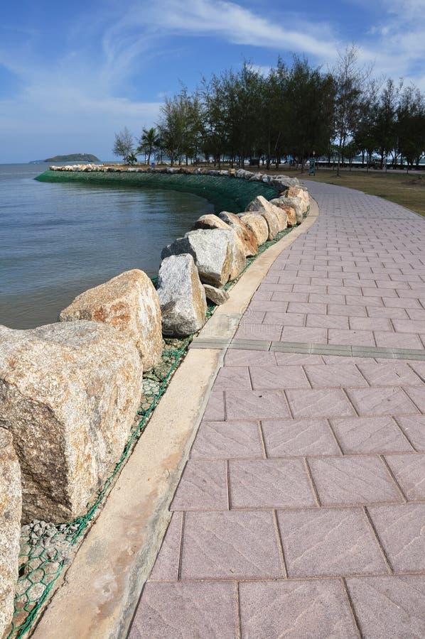 ??Beach de ville Thaïlande de Phuket image libre de droits
