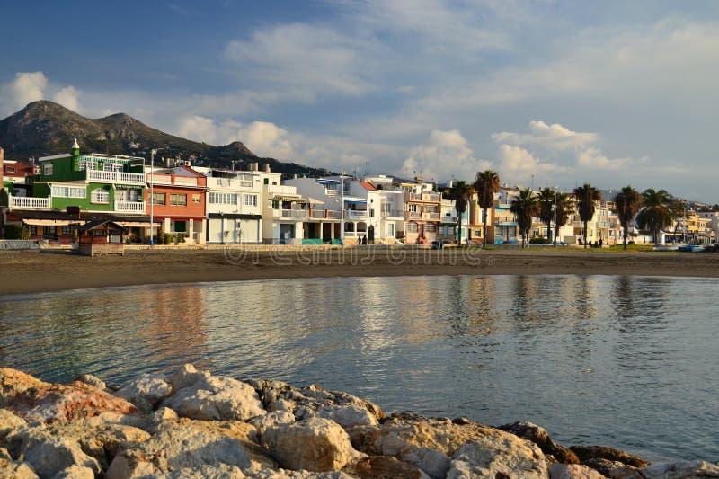 The beach el palo royalty free stock photos