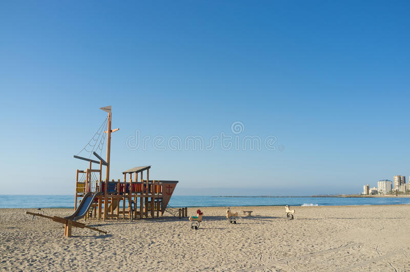 Beach equipment royalty free stock images