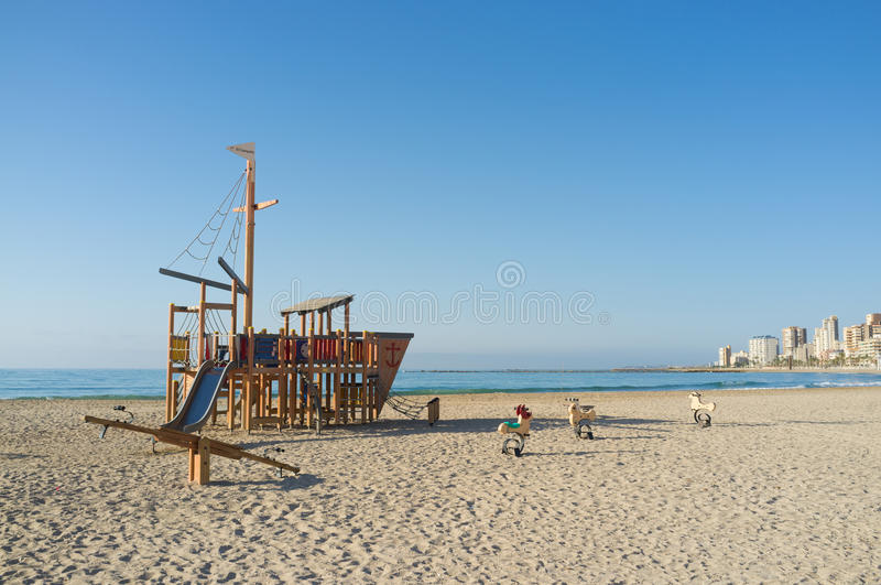Beach equipment royalty free stock image