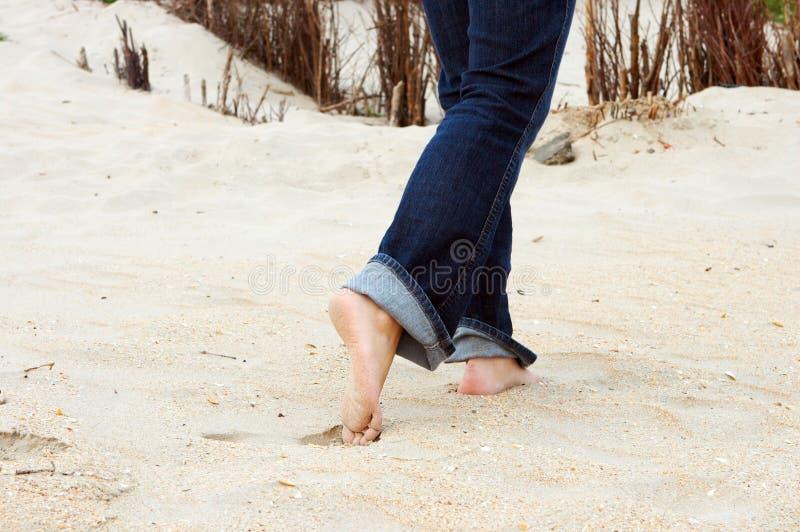 Beach Feet Royalty Free Stock Photography