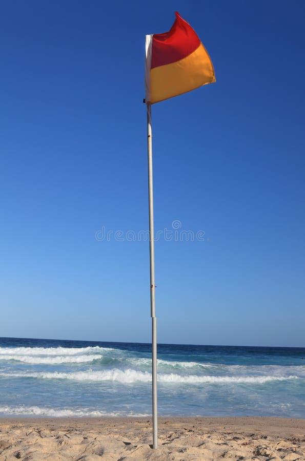 Beach Flag Royalty Free Stock Photography