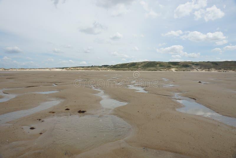 Beach in France royalty free stock photos