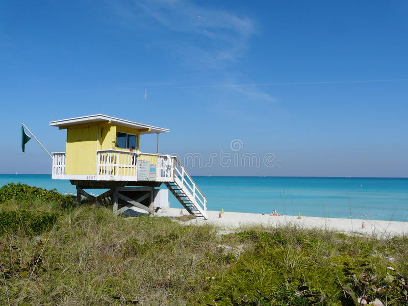 Beach front house royalty free stock images