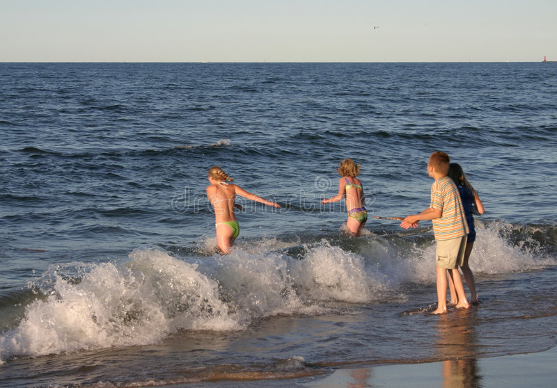 Beach Fun #2 Royalty Free Stock Photo