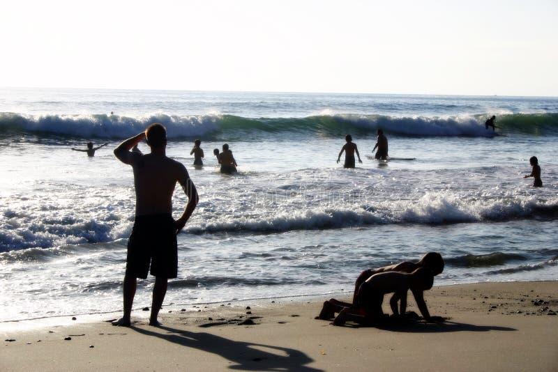 Download Beach Fun stock photo. Image of coastal, person, ocean, child - 31112