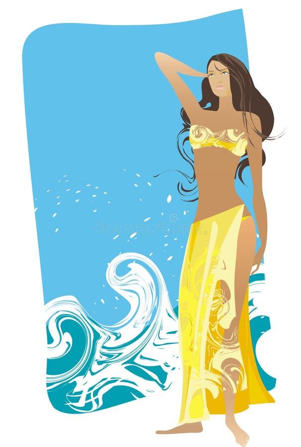 Download Beach Girl Stock Photo - Image: 954180