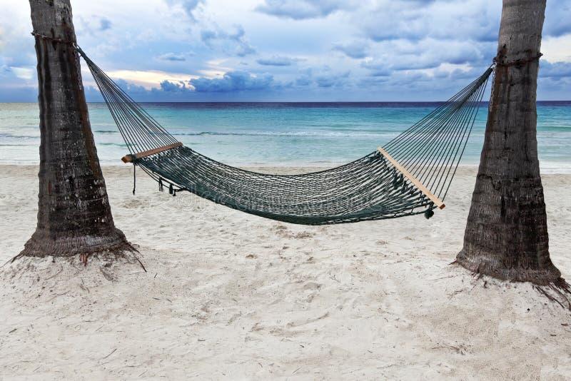 Download Beach Hammock stock photo. Image of luxury, copy, horizontal - 28512812