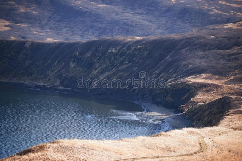 Download Sand Point Alaska stock image. Image of blue, akstp2018021800003 - 113902913