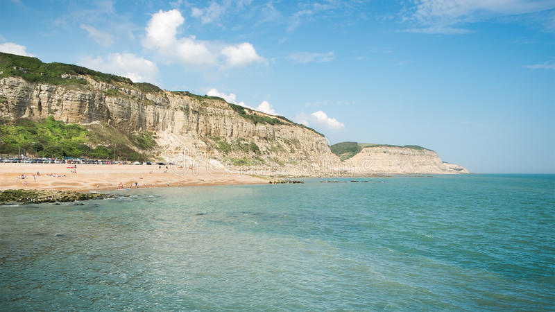 Download Beach of Hastings England stock photo. Image of british - 42987276