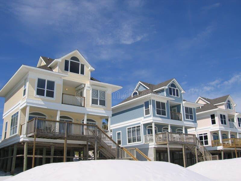 Beach Homes stock photos