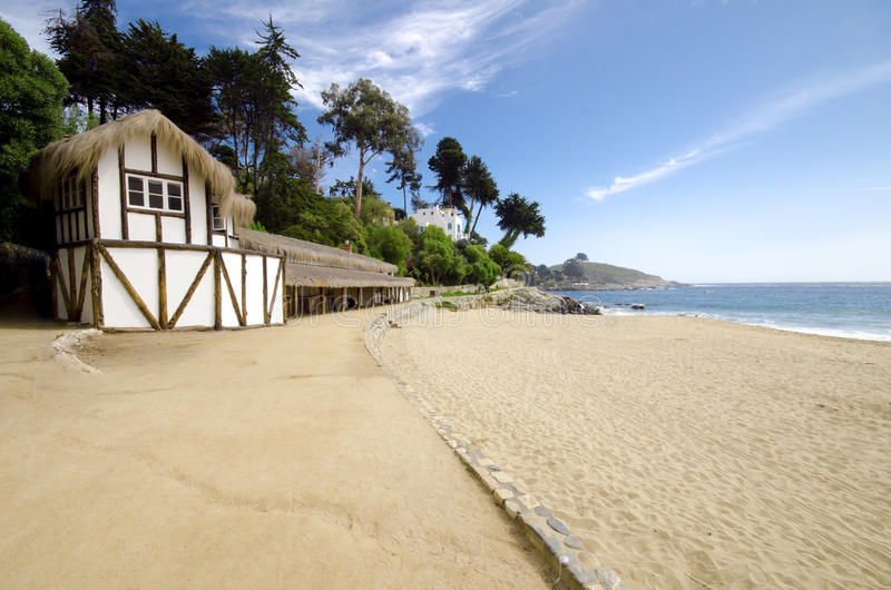 Beach House royalty free stock photography
