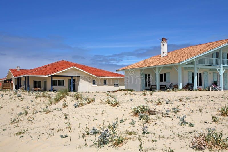 Download Beach house stock photo. Image of home, aqua, france, atlantic - 6057966