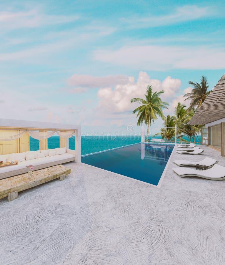Beach House stock photo