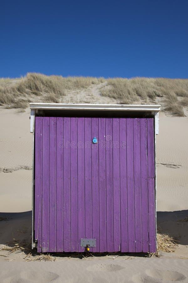 Beach house stock image