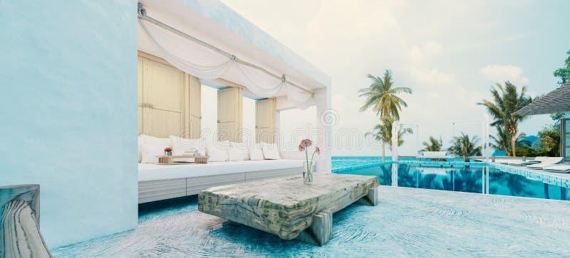 Beach House stockbild
