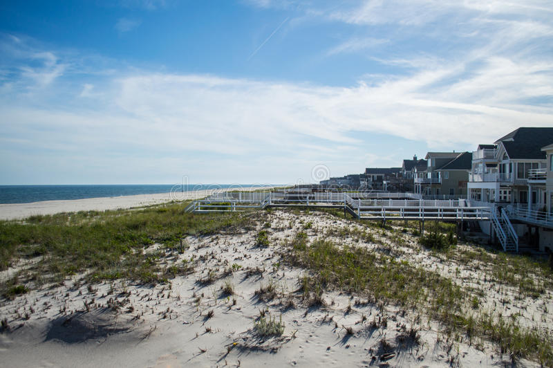 Beach Houses – Summer in the Hamptons. USA royalty free stock photo
