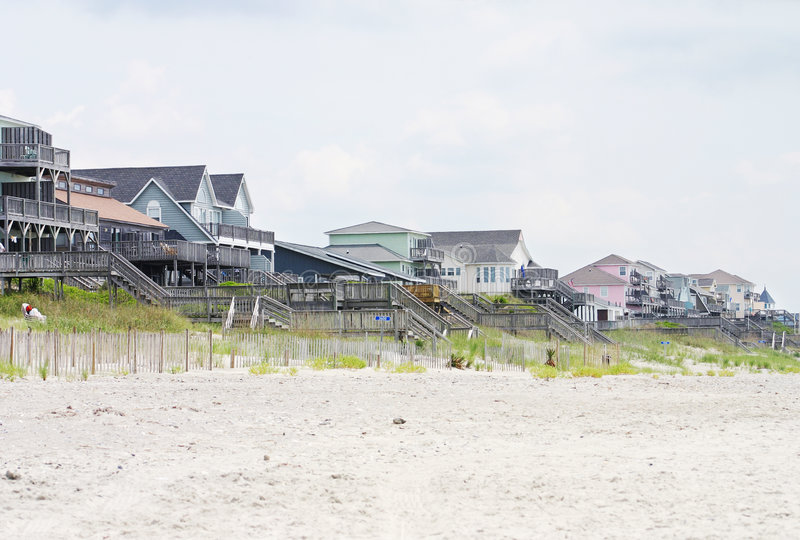 Download Beach Houses stock image. Image of house, landscape, vacation - 164187