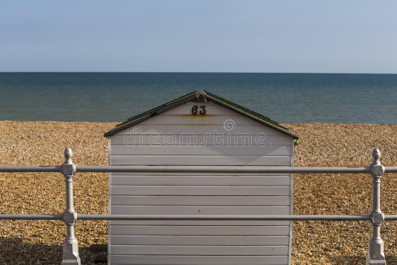 Beach Hut. Bexhill, England, United Kingdom stock photos