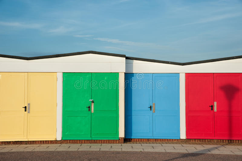Download Beach Hut stock photo. Image of colorful, holiday, bright - 34046666