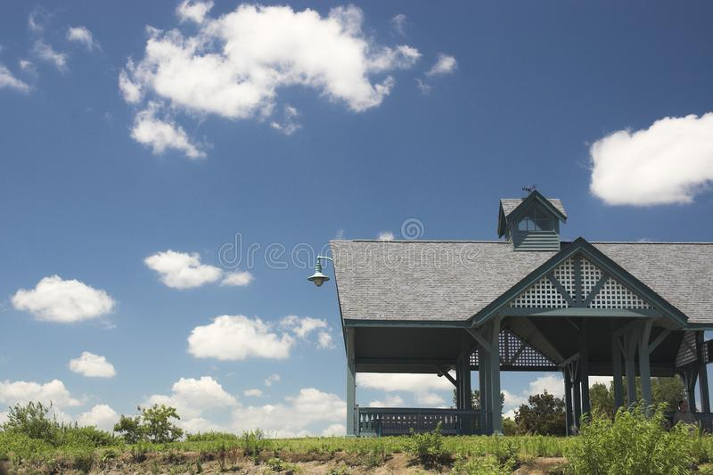 Download Beach hut in summer stock photo. Image of ontario, cottage - 1109434