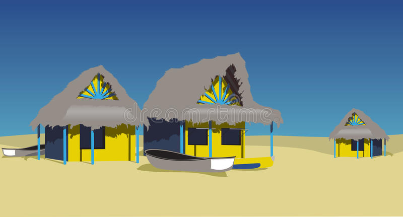 Download Beach Huts Royalty Free Stock Photography - Image: 10788567