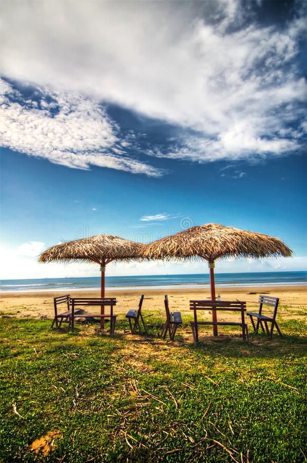 Free Beach Huts Stock Images - 11284014