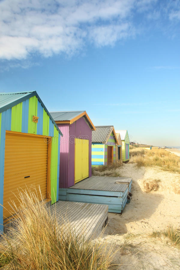 Download Beach Huts Royalty Free Stock Photography - Image: 11775817