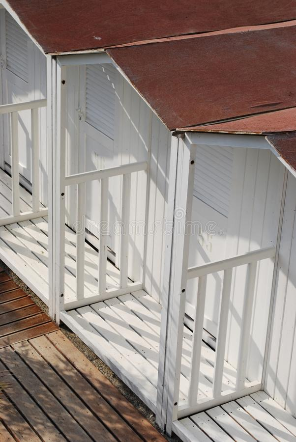 Download Beach huts stock photo. Image of wood, vacation, outside - 21265246