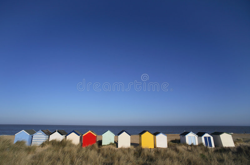 Download Beach Huts stock image. Image of england, southwold, painted - 2317555