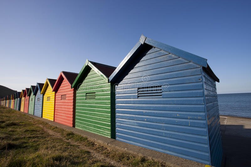 Download Beach huts stock photo. Image of peaceful, england, doors - 24375912