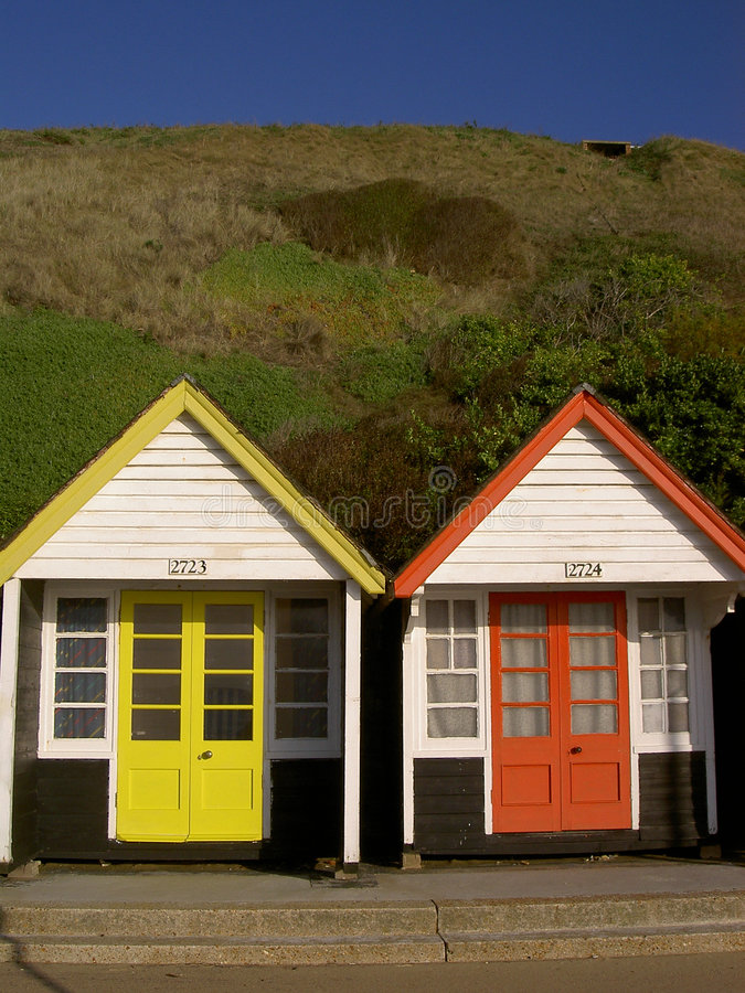 Free Beach Huts Stock Photography - 3583812